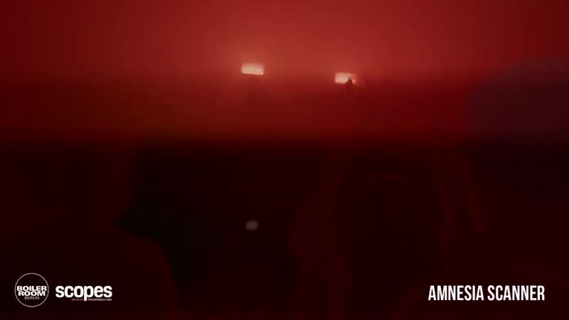Amnesia Scanner Boiler Room Berlin x Scopes