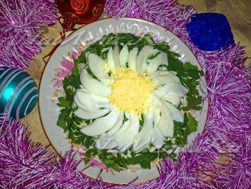 Рецепты новогодних салатов с фото 2013