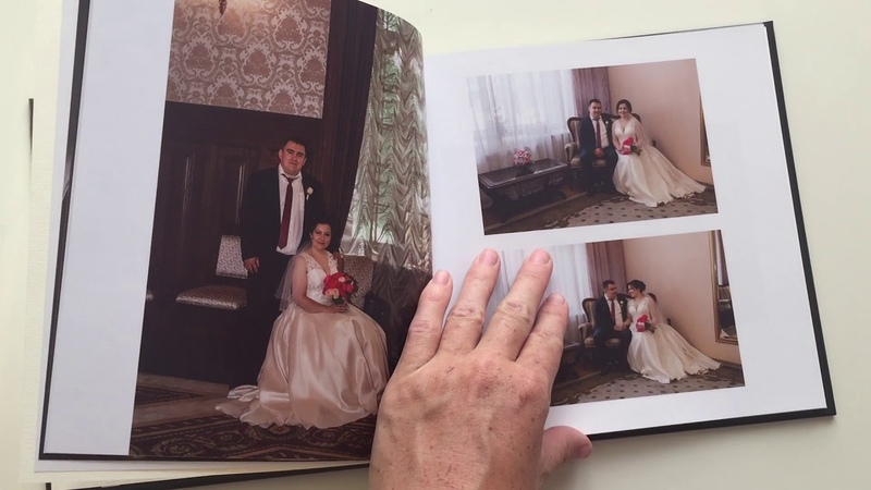 Фотокнига 20х20 36 страниц. Свадьба Василия и Инны