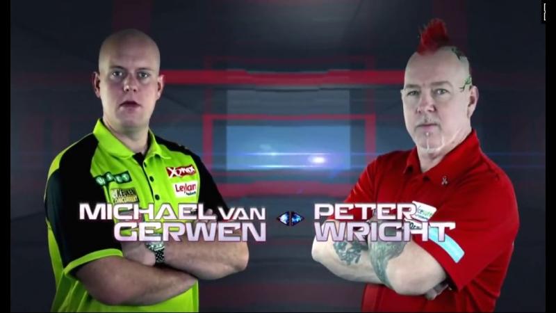 2018 Melbourne Darts Masters Semi Final van Gerwen vs Wright