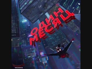 Человек-паук: Через вселенные - Через месяц в кино!