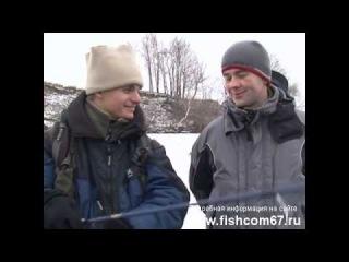 Зимний спиннинг - соревнования на Москва реке 2