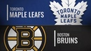 Toronto Maple Leafs vs Boston Bruins Dec 08 2018 NHL Game Highlights Обзор матча