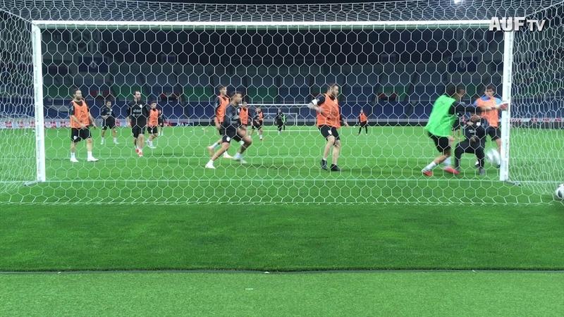 Goles del fútbol informal celeste en Tokio