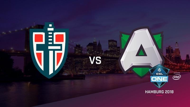 Alliance vs Espada, ESL Closed Quals EU, bo3, game 1 [Maelstorm Jam]