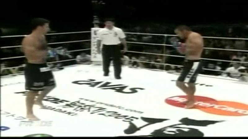 Dan Henderson vs. Murilo Bustamante [PRIDE Shockwave 2005] 31 12 2005