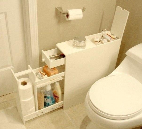 10 идей организации хранения туалетных принадлежностей