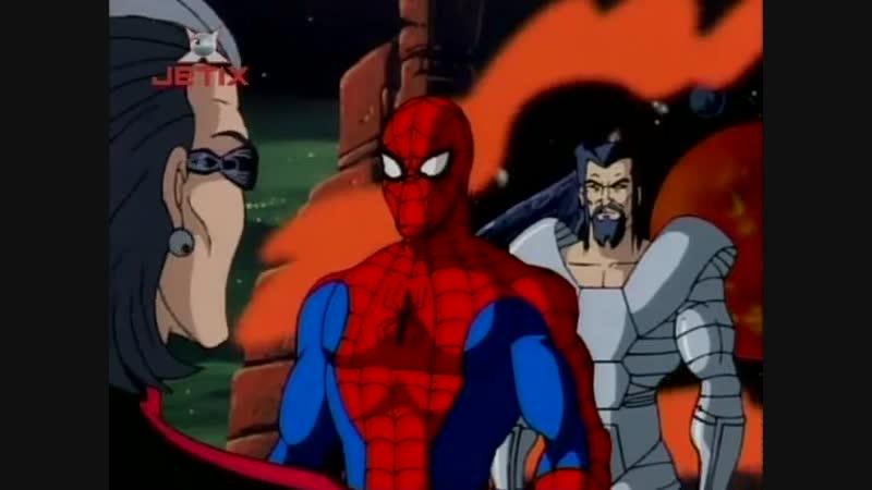 Человек Паук 5 Сезон 9 Серия Секретные Воины Часть Первая