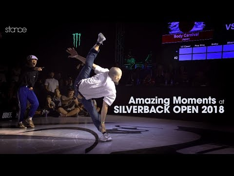Amazing Moments at SILVERBACK OPEN 2018 .stance