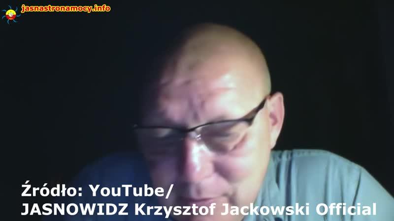 Krzysztof Jackowski jasnowidz Ciemnowidz Agent Ciemnej Strony Mocy Wylansowany przez agenturę cz1