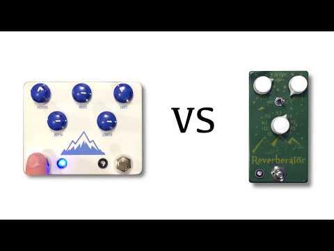 JHS Alpine Reverb vs Dr Scientist Reverberator