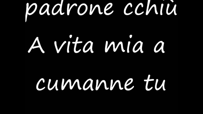 Stupida Avventura Nino DAngelo TESTO
