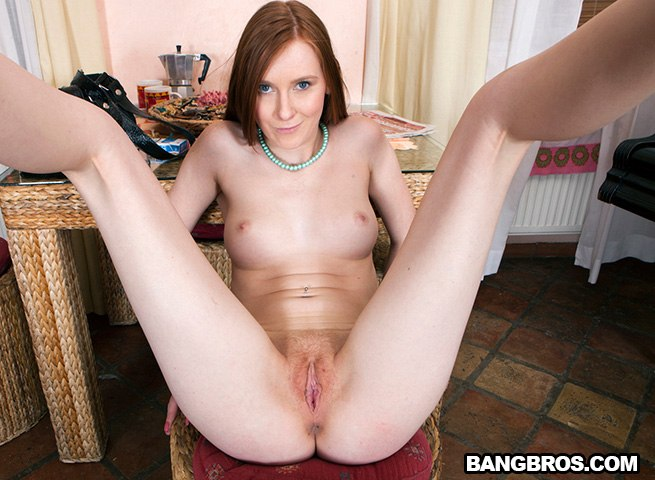 European Redhead Swallows Cum After..