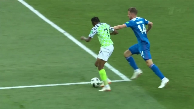 ЧМ 2018 Ахмед Муса 2-ой гол сборной Нигерии
