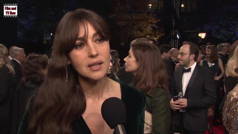 Monica Bellucci SPECTRE World Premiere Interview