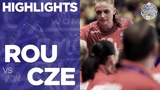 Romania vs Czech Republic Highlights Women's EHF EURO 2018 HD