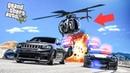 Этот вертолет меня достал! Погоня за Jeep TrackHawk! Полицейские догонялки в ГТА 5