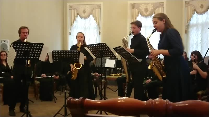 Konzert d-moll fur zwei violinen und streichorchester (J. Bach/А. Стольмашенко) - части 1, 3