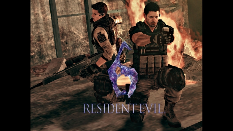 Resident Evil 6 - Chris Redfield and Piers Nivans campaign [ 3 ]
