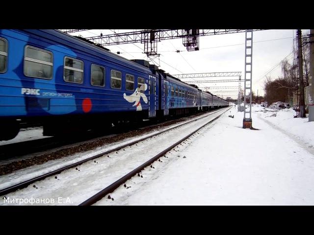 Электропоезд ЭД4М-0399 РЭКС (ТЧ-31 Домодедово). (РЖД), zary1976