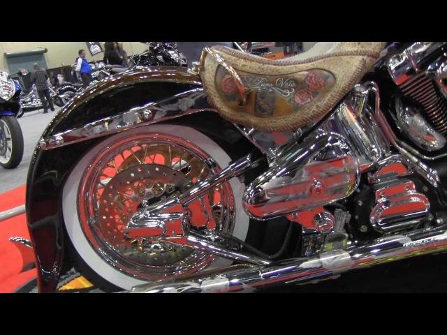 Blacksmith Motoring company El Puro Vato Harley Davidson Deluxe at Ulitmate Builder Series ATL