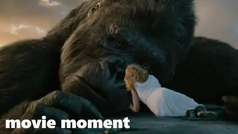 Кинг Конг (2005) - Падение Конга (10/10) | movie moment