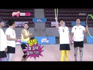 Корейская гимнастка обучает мужчин художественной гимнастике. Ржач!)) Смотреть со 2-ой минуты!