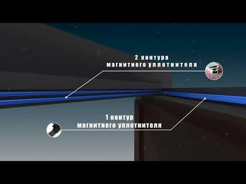 Металлические двери Voldoor с тремя магнитными уплотнителями