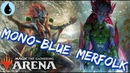 Mono-Blue MERFOLK [MTG Arena] | 3-0 Blue Merfolk Deck in M19 Standard