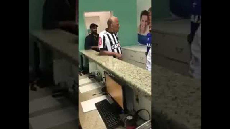 Vídeo de Dadá Maravilha falando que Cruzeiro tem mais torcedores que o Atlético MG viraliza na web;
