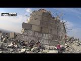 ДНР. Разрушенный украинскими нацистами мемориальный комплекс Саур-Могила