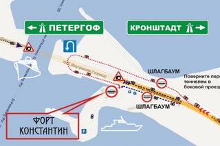 Надо с кольца съехать в сторону северной части острова и тут же свернуть направо, там и будет дорога к форту. оно?