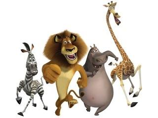 Мадагаскар 2 смотреть Побег в Африку, игра как мультик для детей Madagascar часть 3
