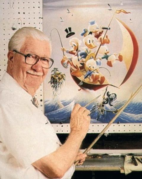 Как Карл Баркс 25 лет рисовал Дональда Дака, оставаясь в тени Диснея