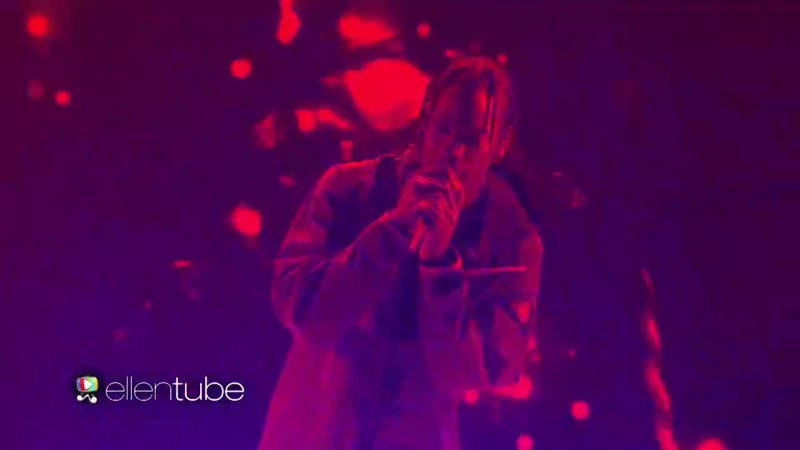 Travis Scott - goosebumps (Live on Ellen)