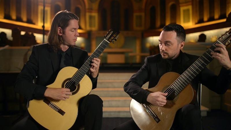 HK Guitar Duo - Symphony no. 40 I. Molto Allegro