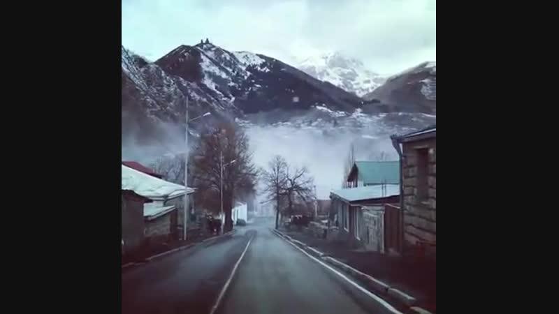 Дорога к ледяной вершине. Казбеги!