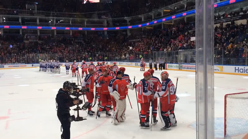 Победа армейцев Москвы