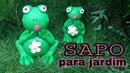 SAPO PARA DECORAR JARDIM FISH FOR DECOR GARDEN