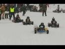Снежные приключения: как прошли гонки на «Кубок Севера» по зимнему картингу