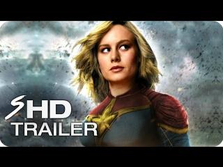 Captain marvel - teaser trailer (2019 movie) - brie larson, marvel comics (fanma