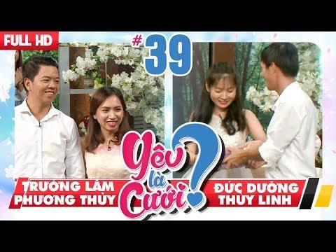 YÊU LÀ CƯỚI | YLC 39 UNCUT | Đường vào trái tim đi qua bao tử và cặp đôi đưa nhau đi trốn|140718💙