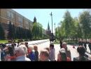 Возложение цветов к вечному огню Александровский сад