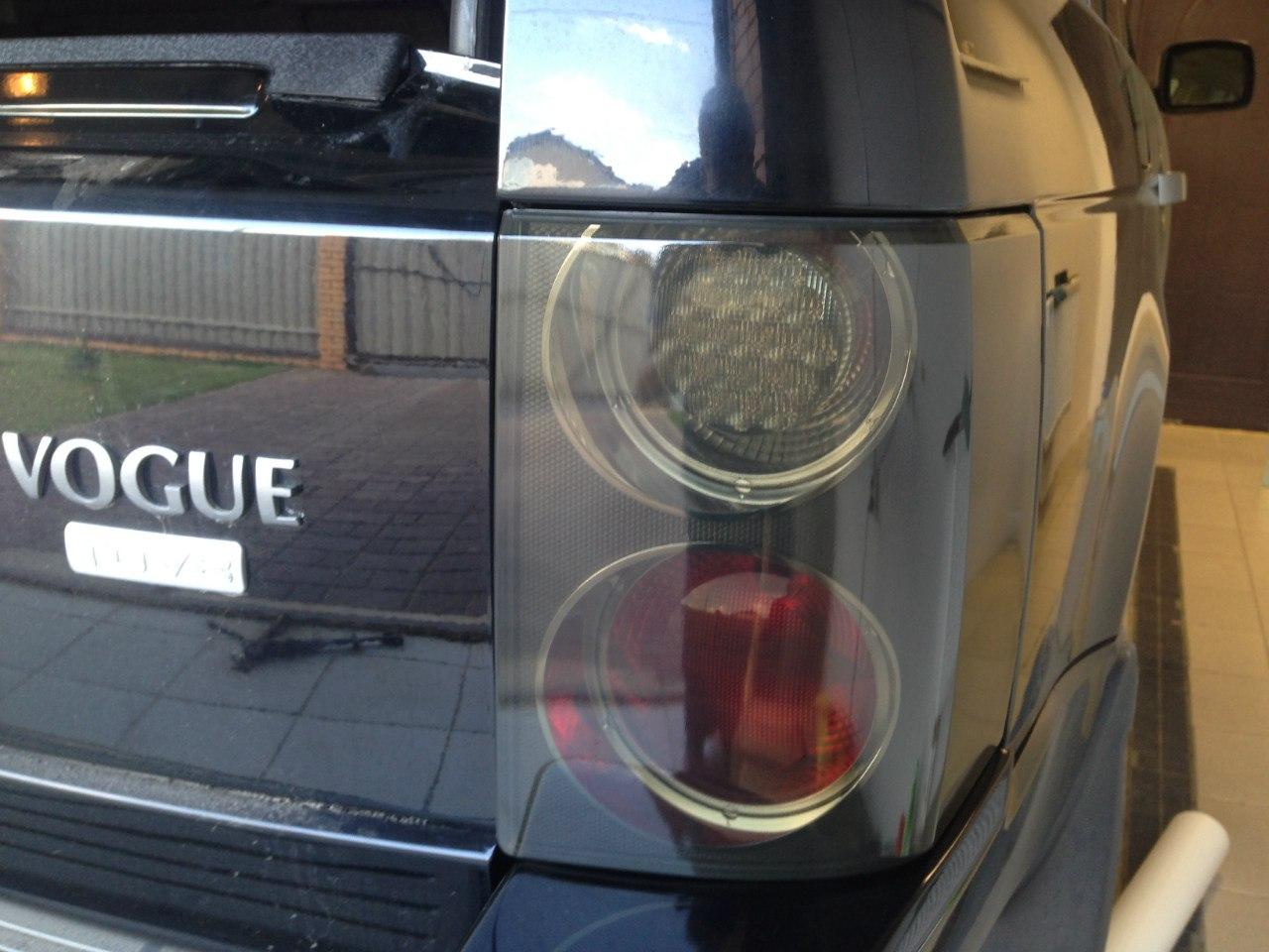 Land Rover Vogue тонировка задних фар