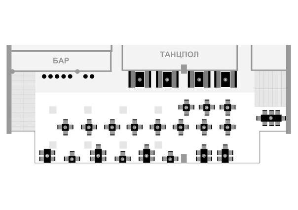 Схема зала | 2-й этаж |