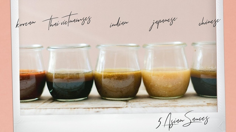 5 Essential ASIAN SAUCES for 5 Asian Cuisines - Basic Asian Marinades