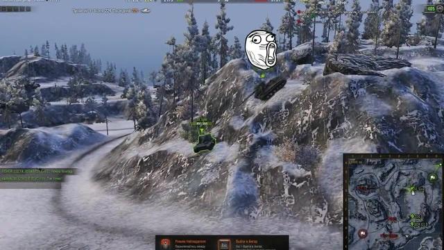 Worlds Of Tanks - Заполярье дураков
