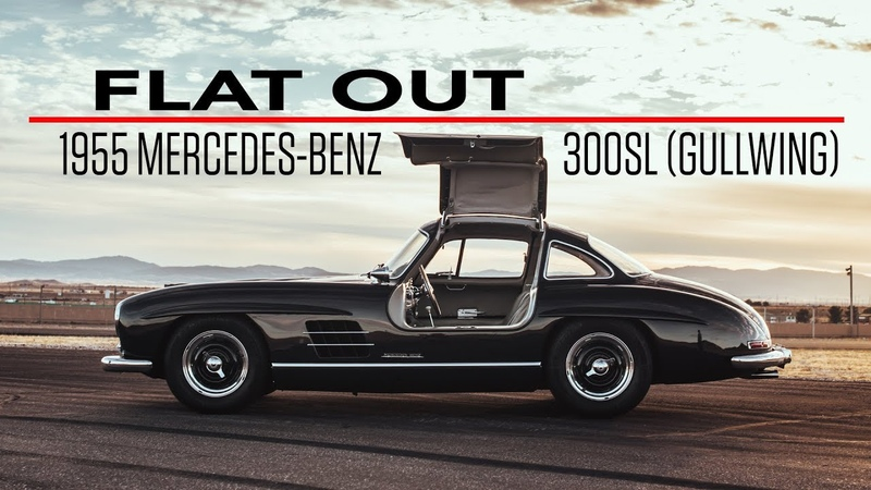 1955 Mercedes-Benz 300SL Gullwing was meant to be driven like a race car | Flat Out - Ep 5