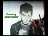 Drawing Alex Turner (From Arctic Monkeys) By Brandon HV