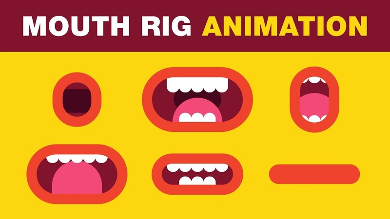 Mouth Rig Slider Animation Tutorial - After Effects Tutorial